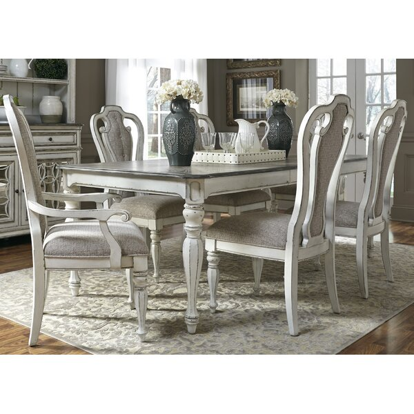 Tiphaine 7 Piece Extendable Dining Set by Lark Manor