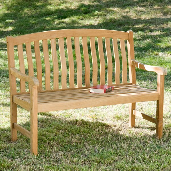 Teak Garden Bench by Wildon Home ®