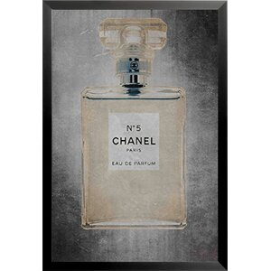 'Chanel No 5' Framed Vintage Advertisement by Buy Art For Less