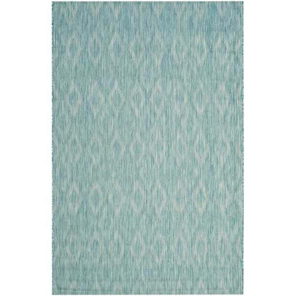 Brodie Aqua Area Rug by Langley Street