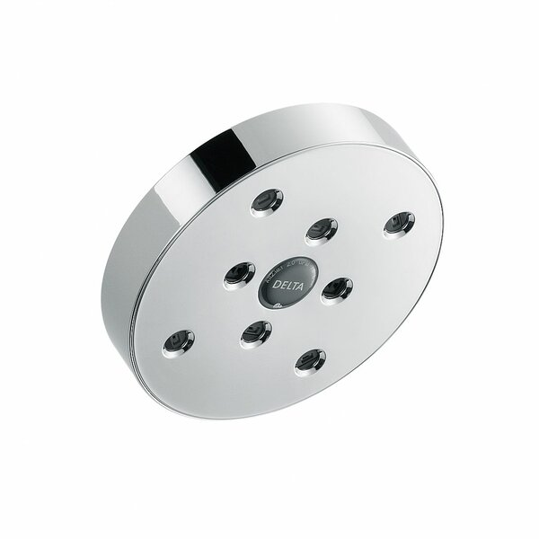 Universal Showering Components Full Low Flow Shower Head with H2okinetic Technology by Delta