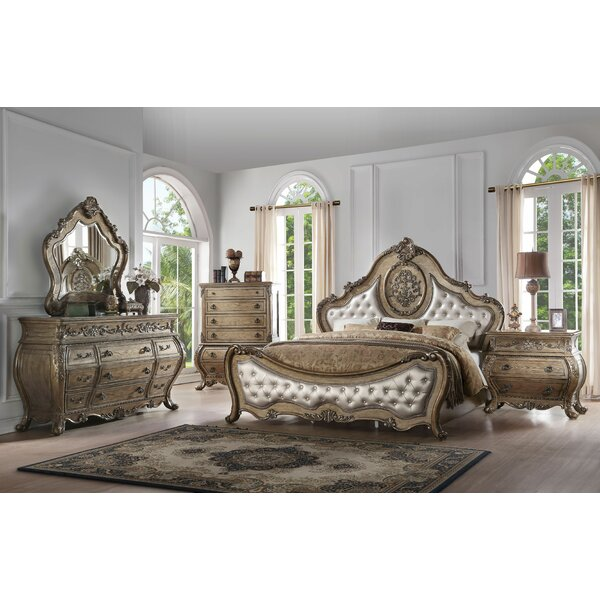 Stultz Upholstered Standard Configurable Bedroom Set by Astoria Grand
