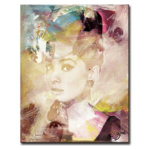 Abstract X Framed Graphic Art on Wrapped Canvas by Latitude Run