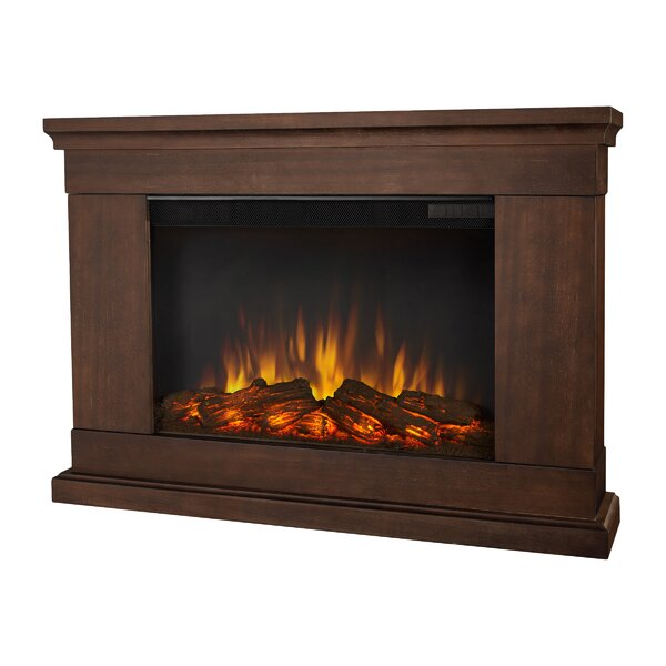 Slim Wall Mounted Electric Fireplace by Real Flame