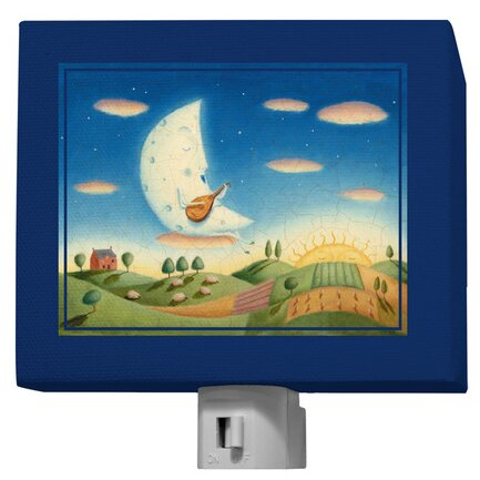 Musical Moon Night Light by Oopsy Daisy