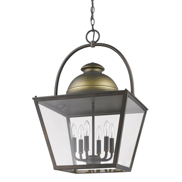 Samarth 6 - Light Lantern Geometric Chandelier by Darby Home Co Darby Home Co