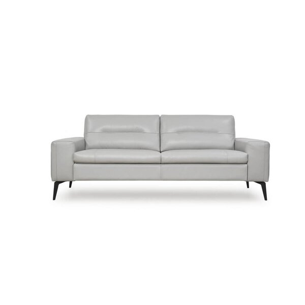 Edelen Leather Sofa By Corrigan Studio New