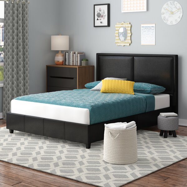 Alvin Upholstered Platform Bed by Wade Logan