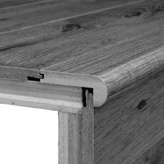 0.31 x 2.75 x 78 White Oak Stair Nose in Sierra by Bruce Flooring