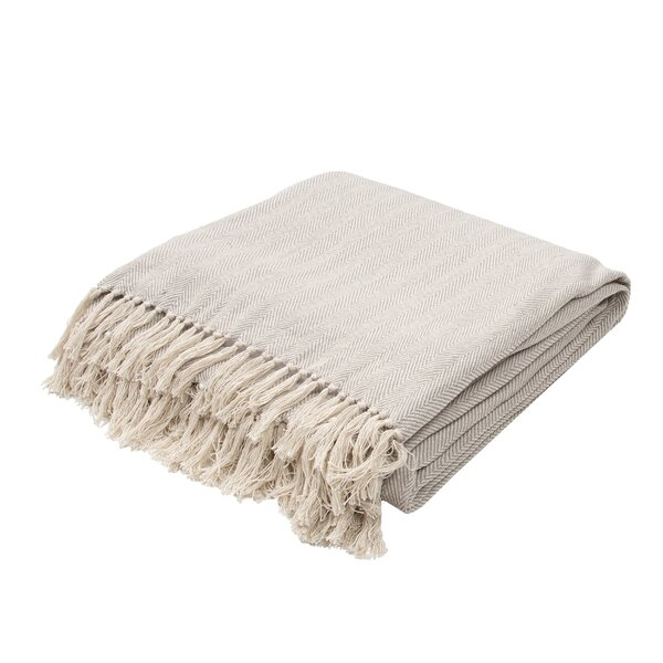 Panama City Beaches Cotton Throw Blanket by Beachcrest Home