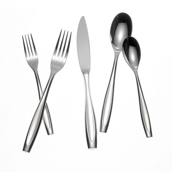 Thesis 5 Piece Flatware Set by Yamazaki