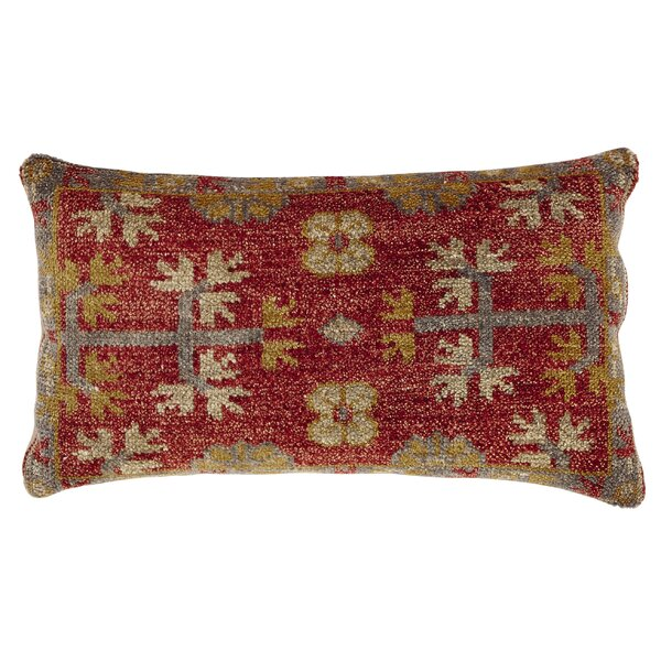 Bonilla Wool Lumbar Pillow by Bungalow Rose