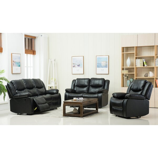 3 Reclining Piece Living Room Set by Container