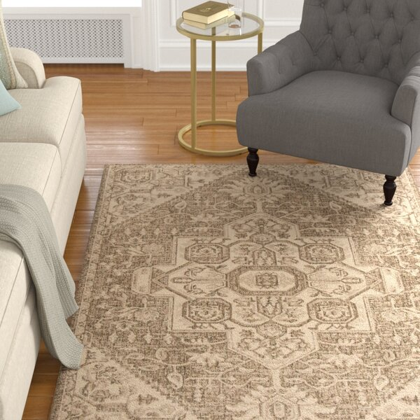 Dunnyvadden Cream/Beige Area Rug by Canora Grey