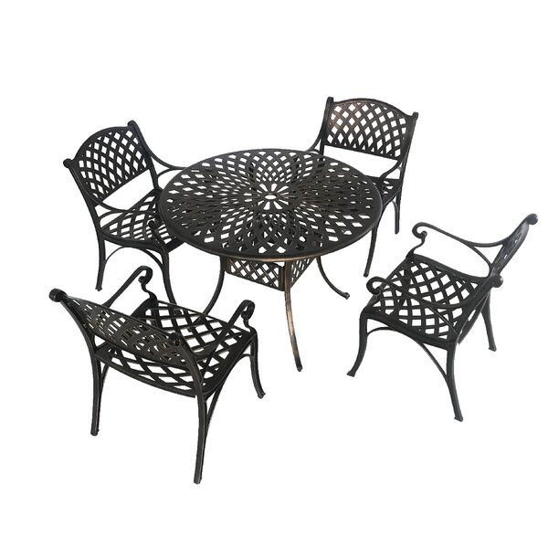 5 Piece Dining Set by Charlton Home