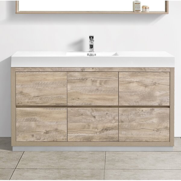 Malakai 59 Single Bathroom Vanity by Wade Logan
