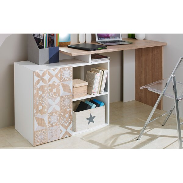 Dobbins Corner L-Shape Writing Desk by Ebern Designs