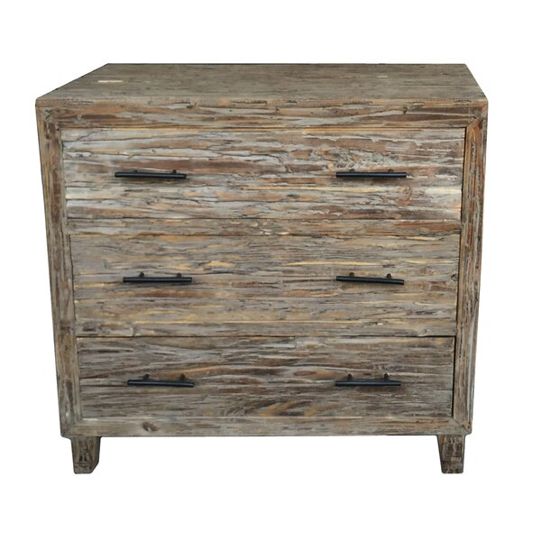 Pantoja Rustic 3 Drawer  Bachelors Chest by Union Rustic