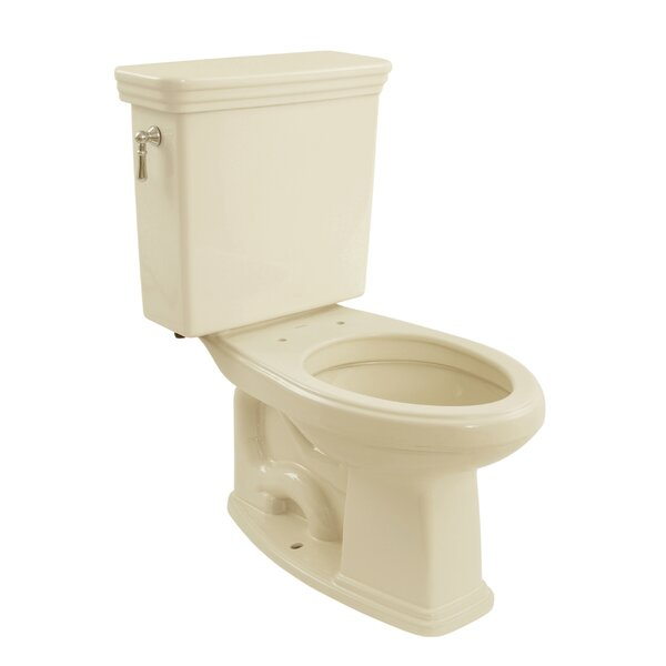 Promenade 1.6 GPF Elongated Two-Piece Toilet (Seat Not Included) by Toto