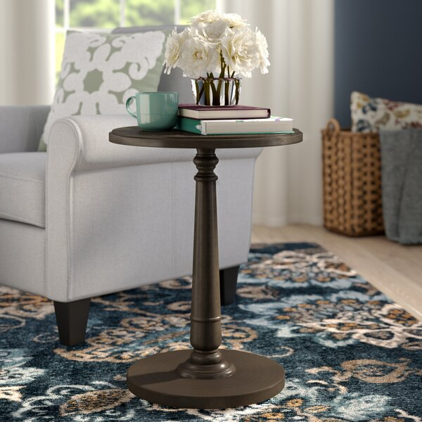 Calabria End Table by Charlton Home