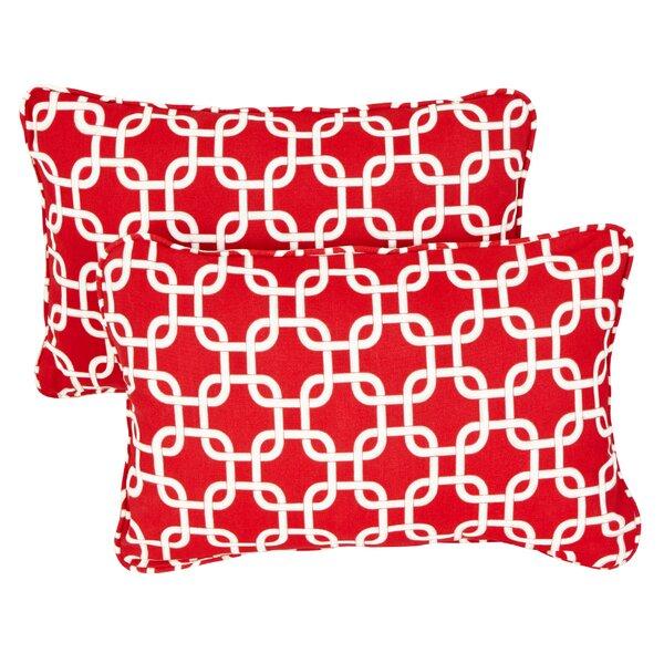 Replogle Link Indoor/ Outdoor Corded Pillow (Set of 2) by Brayden Studio