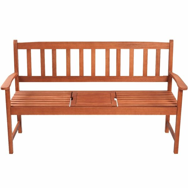 Renna Wooden Bench by Charlton Home