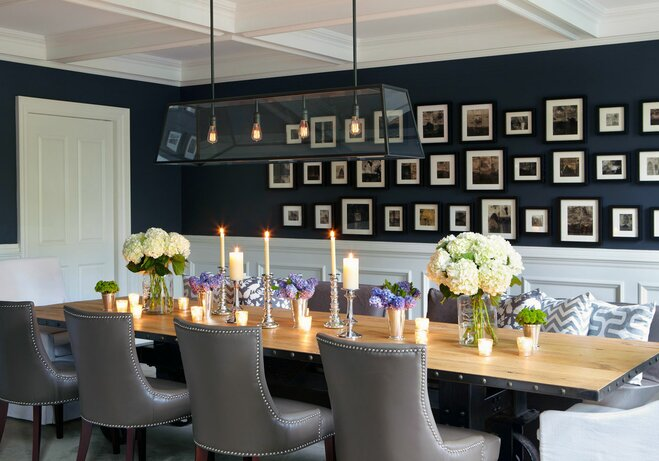 Superb Gallery Wall Dining Room Photo Gallery