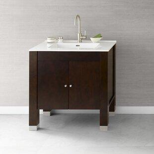 Devon 31 Single Bathroom Vanity Base Only ByRonbow