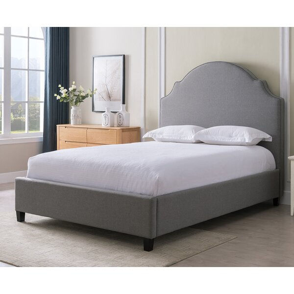 Eldorado Upholstered Standard Bed by Canora Grey