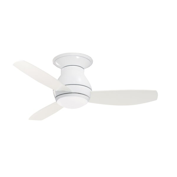44 Robledo 3 Blade LED Ceiling Fan with Remote by Mercury Row