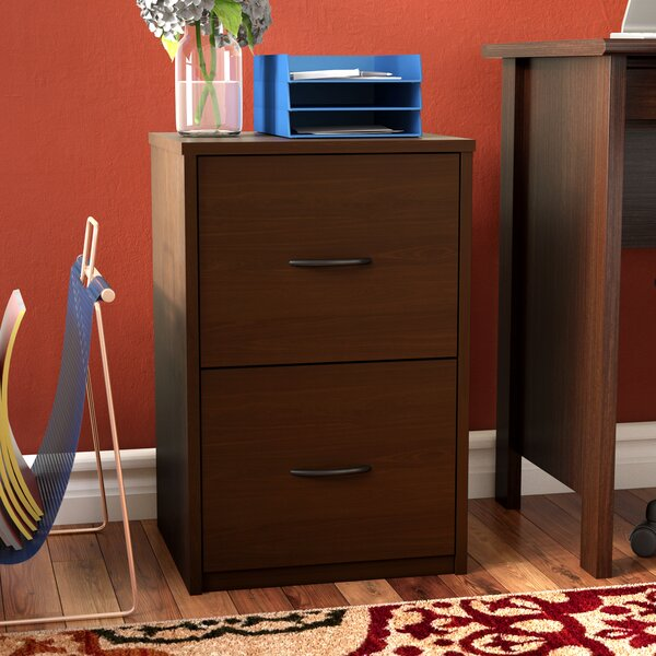 Gammons 2 Drawer Vertical Filing Cabinet by Andover Mills