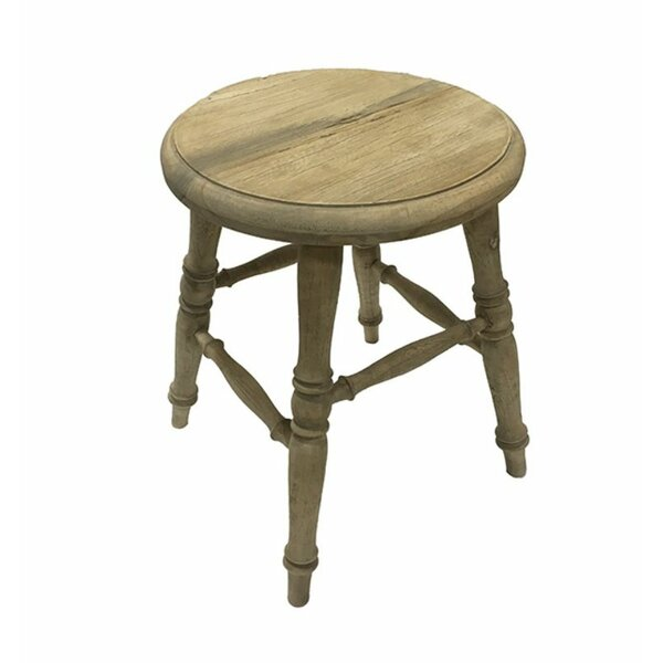 Monan Impressive Wooden Accent Stool by Ophelia & Co.