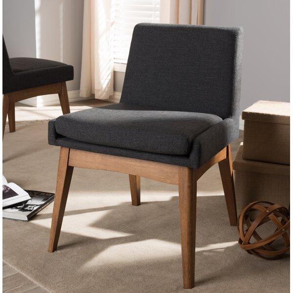 Stallman Mid-Century Modern Upholstered Dining Chair (Set of 2) by Brayden Studio