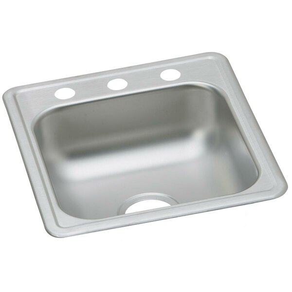Dayton 17 x 19 Drop-In Kitchen Sink by Elkay
