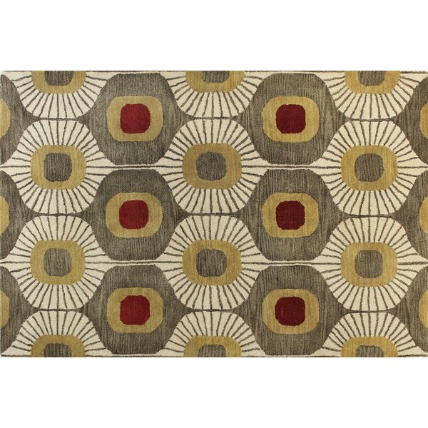 Chelsea Tufted Wool Mocha Area Rug by Bashian Rugs