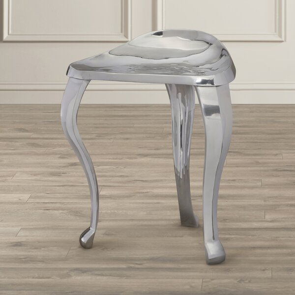 Withernsea Tripod Metal Stool by House of Hampton