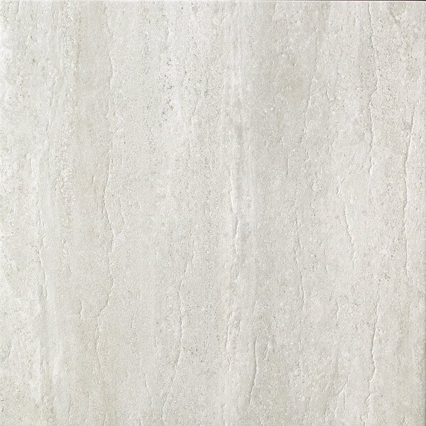 Travertini 16.75 x 16.75 Porcelain Field Tile in Matte Grey by Samson