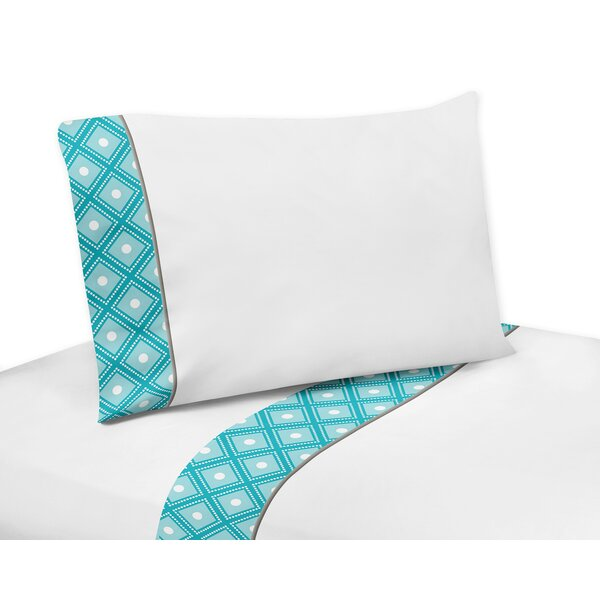 Mod Elephant Cotton Sheet Set by Sweet Jojo Designs