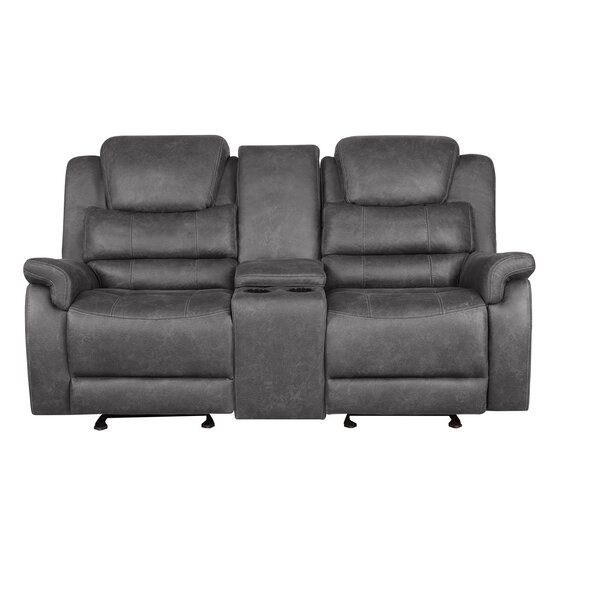 Natalie Reclining Loveseat by 17 Stories 17 Stories