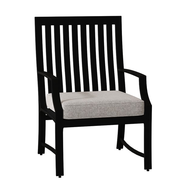 Seal Cove Patio Dining Chair with Cushion by Woodard Woodard