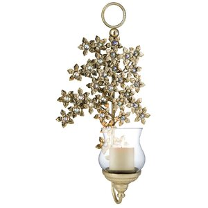 Virgo Orchid Sconce