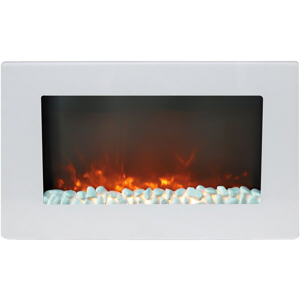 Bevers Wall Mounted Electric Fireplace by Ebern Designs Ebern Designs