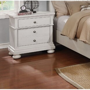 Blaire 3 Drawer Nightstand by Darby Home Co