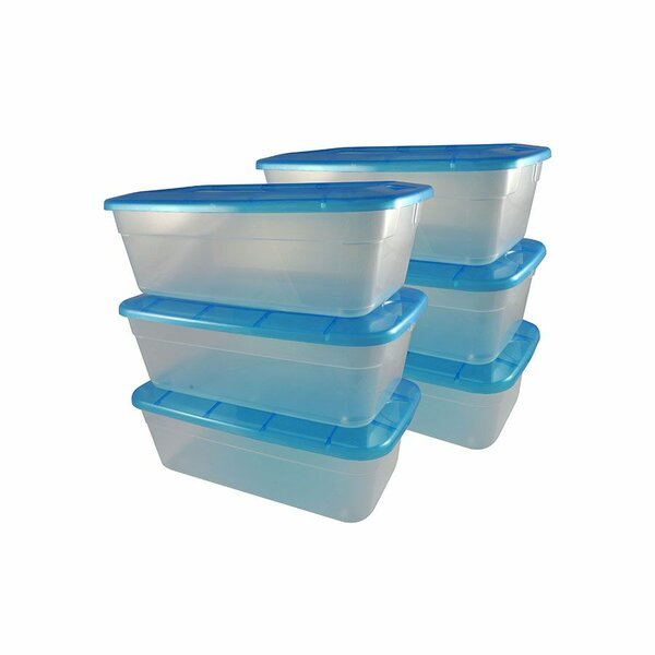 Shoe Storage Box (Set of 6)