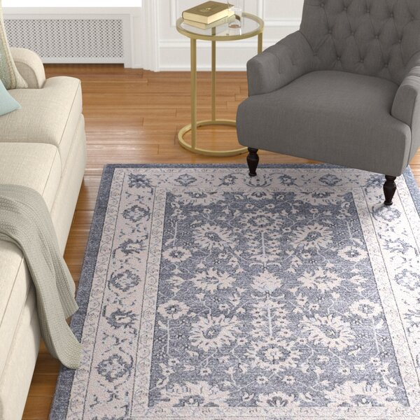 Carmel Dark Gray/Beige Area Rug by Darby Home Co