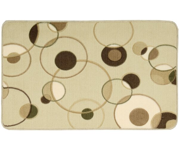 Abner Beige Area Rug by Wrought Studio
