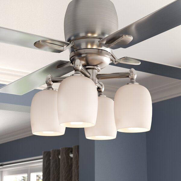 4-Light Branched Ceiling Fan Light Kit by Darby Home Co