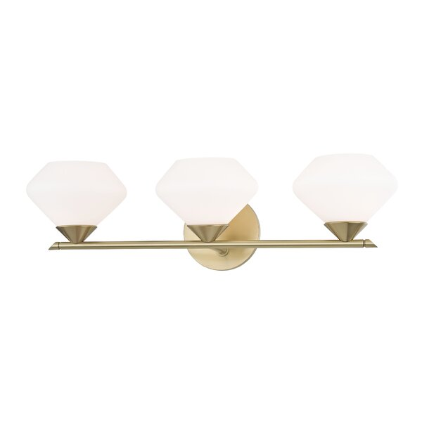 Humes 3-Light Vanity Light by Wrought Studio