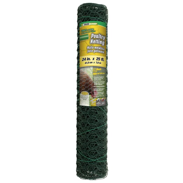 2 ft. H x 25 ft. W Poultry Net Fencing by YARDGARD
