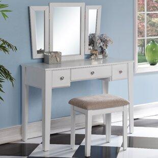 Runcorn Vanity Set with Mirror